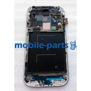 Дисплей в сборе с сенсорным экраном для Samsung I9500 Galaxy S4 черный оригинал