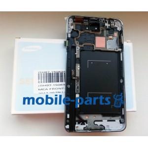 Дисплей с сенсором для Samsung N9000, N900 Galaxy Note 3 черный оригинал